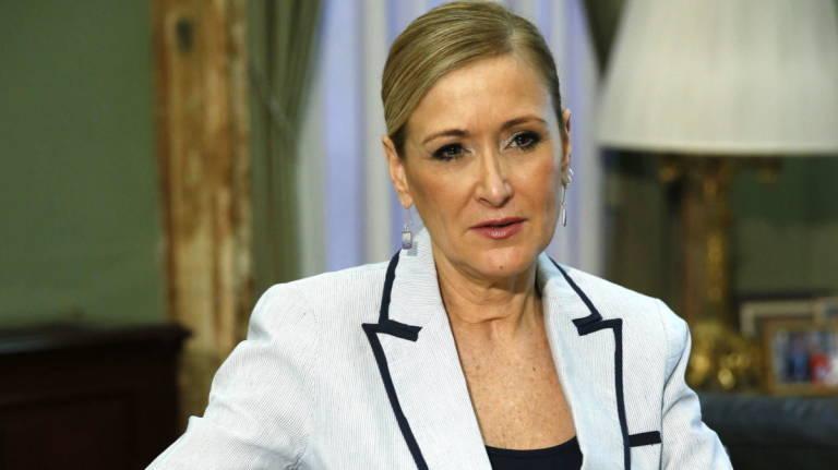 Cristina Cifuentes Presenta Su Renuncia Como Presidenta
