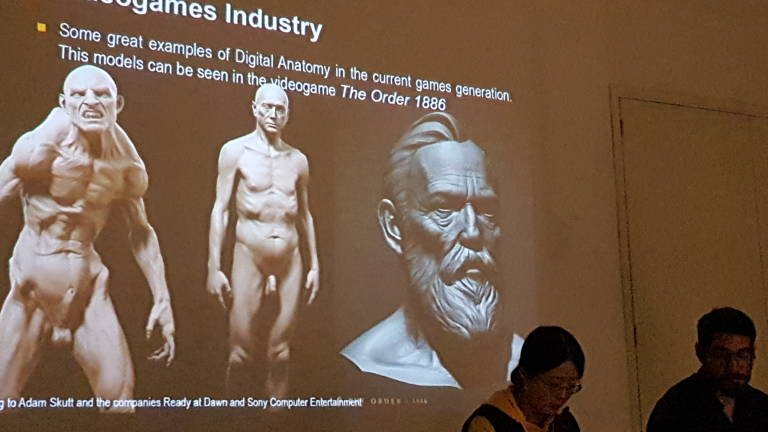 Esat Valencia da una conferencia sobre anatomía digital en el ...