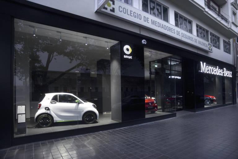 plaza motor mercedes benz valencia inaugura su nuevo