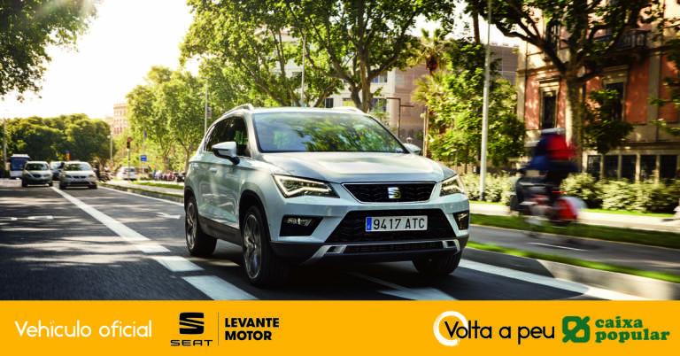 El seat ateca de levante motor ser el veh culo oficial de for Oficinas de caixa popular en valencia