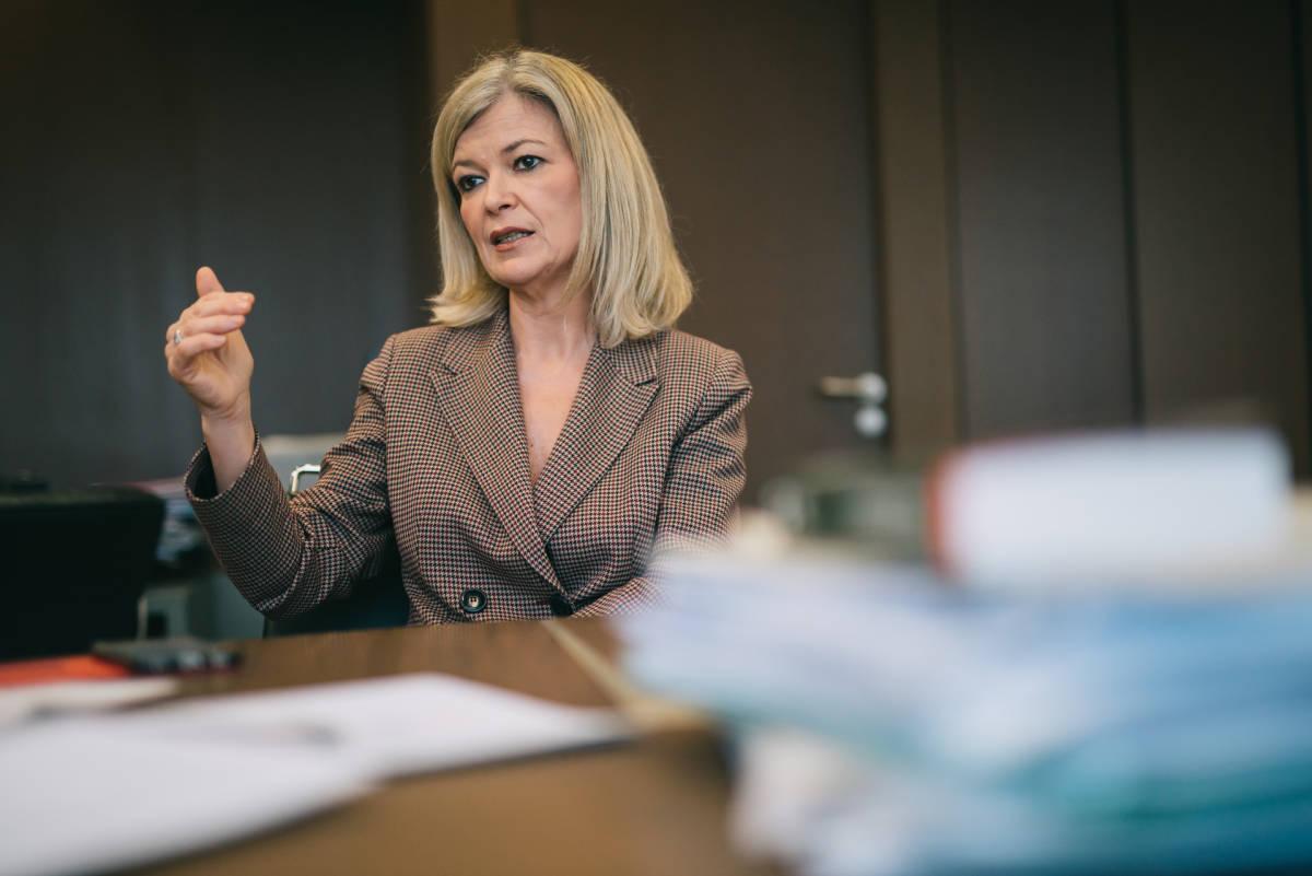 La consellera de Justicia, Gabriela Bravo. Foto: KIKE TABERNER