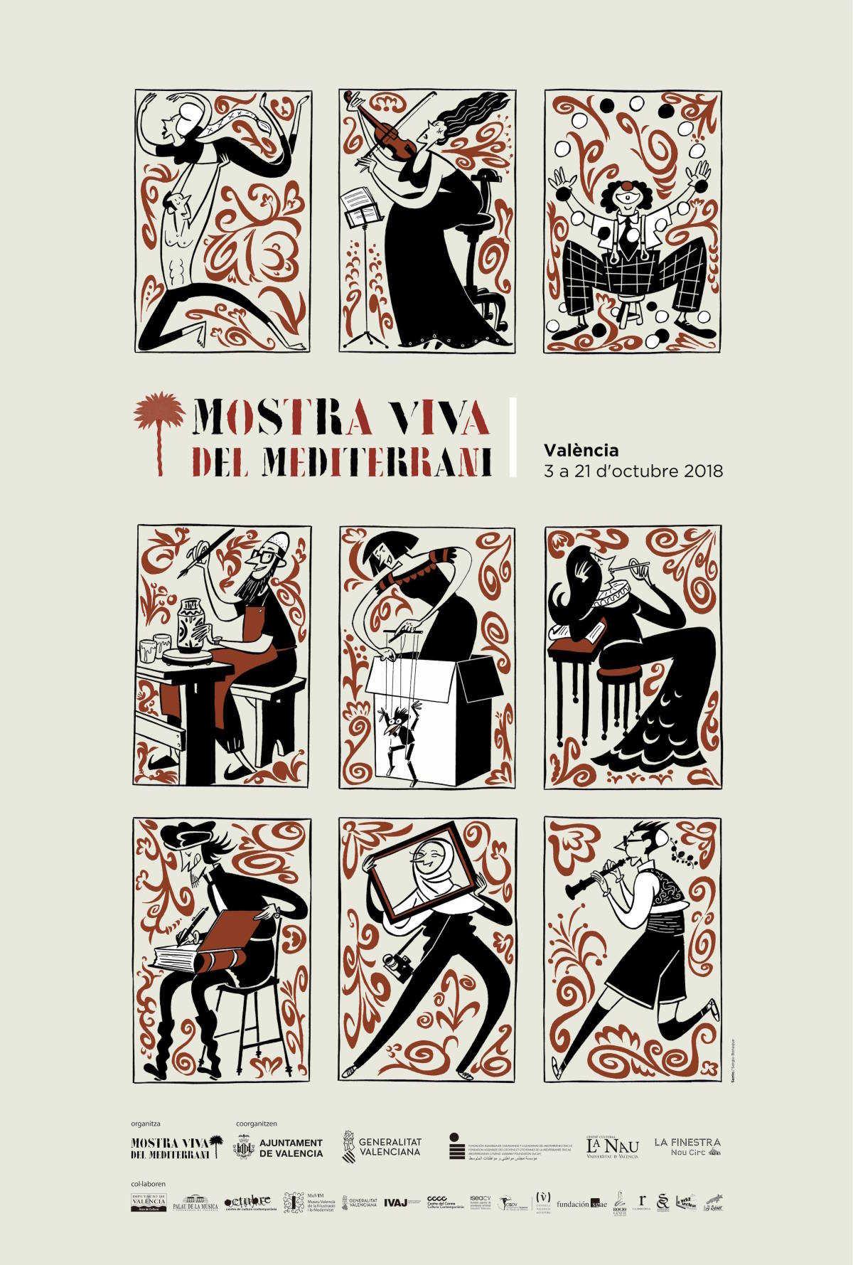 Sento Llobell sella la nueva Mostra Viva del Mediterrani: sin cine ...