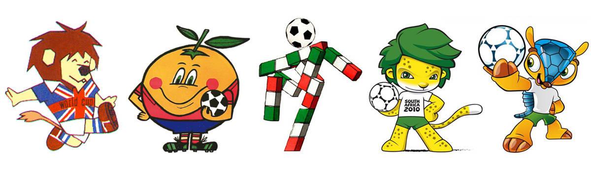 Carteles Logos Mascotas Y Merchandising De Los Mundiales De Futbol