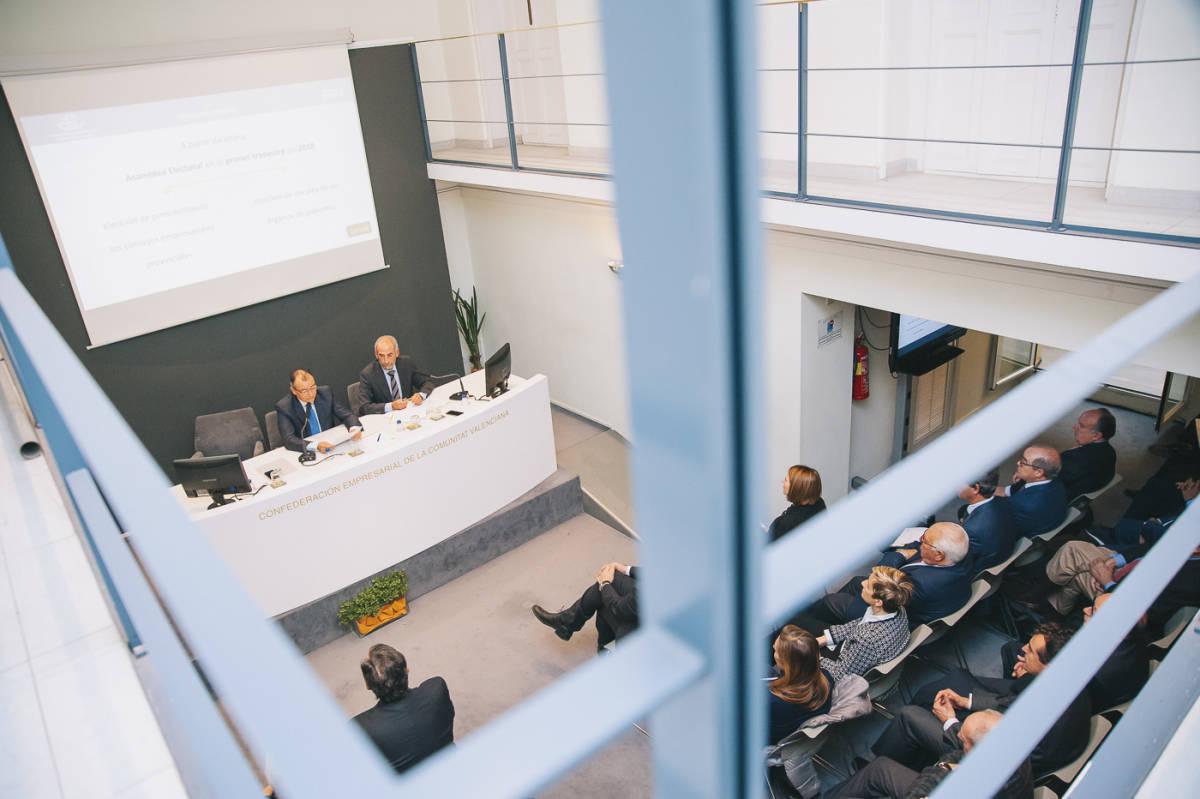 Asamblea de la CEV. Foto: KIKE TABERNER