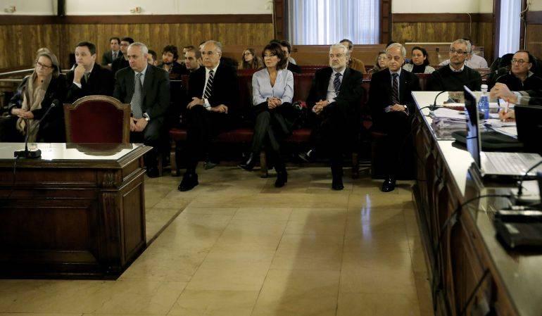 Sesión del primer juicio del 'caso Cooperación'. Foto: EFE