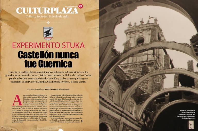 39 experimento stuka 39 castell n nunca fue guernica una - El tiempo en guernika ...