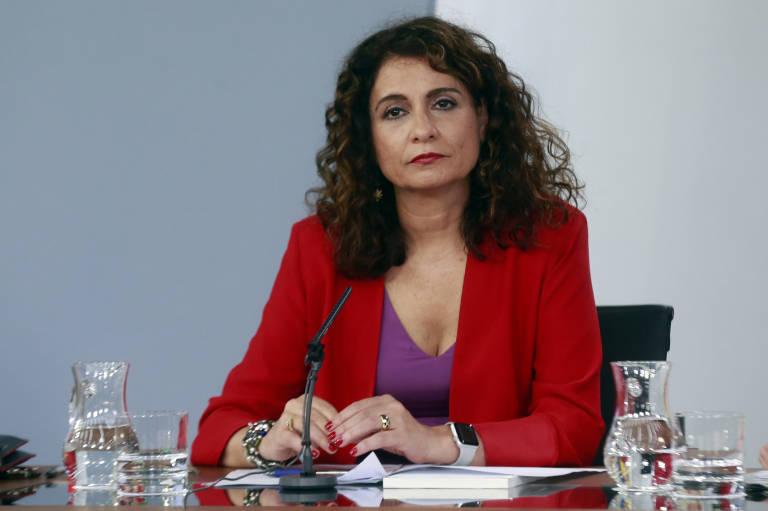 La ministra de Hacienda, María Jesús Montero. Foto: POOL MONCLOA