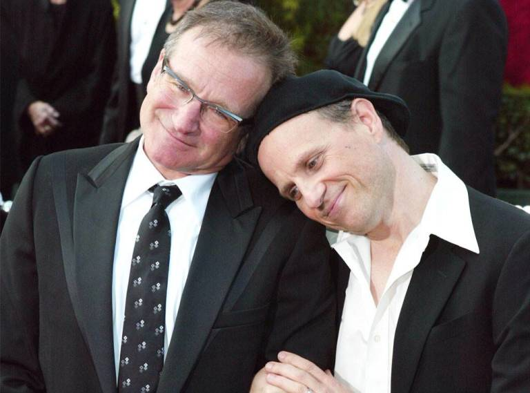 Bobcat Goldthwait y Robin Williams