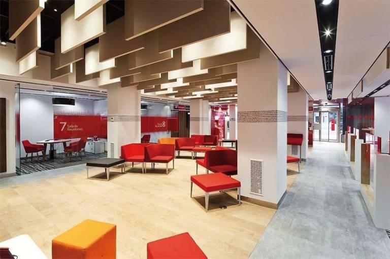 banco santander abre desde este lunes 500 oficinas por la