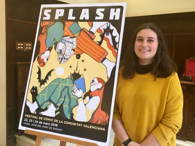 Núria Tamarit firma el cartel de la nueva edición de Splash
