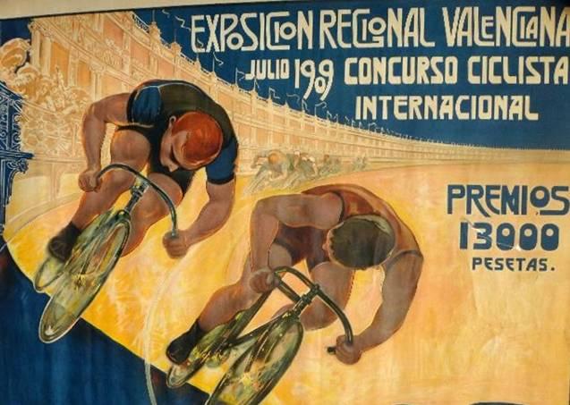 Postal de la Exposición Regional de Valencia