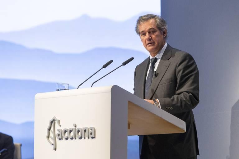 José Manuel Entrecanales. Foto: EP