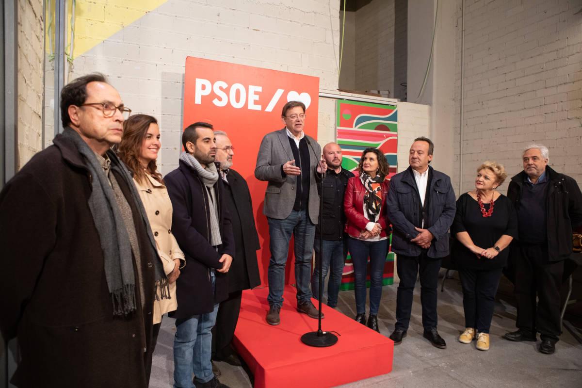 El secretario general del PSPV y president de la Generalitat, Ximo Puig. Foto: ESTRELLA JOVER