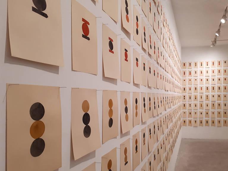 Pep Agut, 'Habitaciones exactas'. Cortesía de la Galería Aural