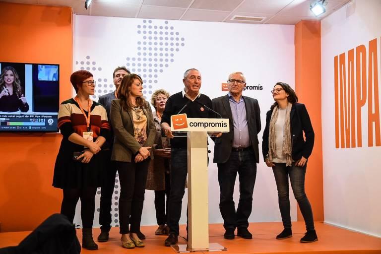 El número uno de Més Compromís al Congreso por Valencia, Joan Baldoví. Foto: EDUARDO MANZANA.