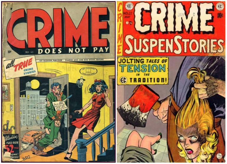 Resultado de imagen para la plaga de los cómics cuando los comics era peligrosos