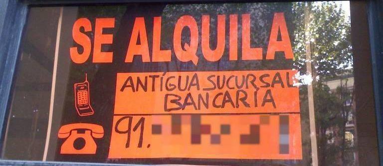 Santander bbva caixabank bankia y sabadell cerraron 678 for Oficinas caixabank madrid