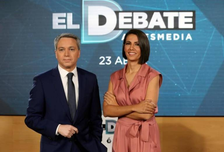 El debate a cuatro de RTVE, en vídeo en streaming