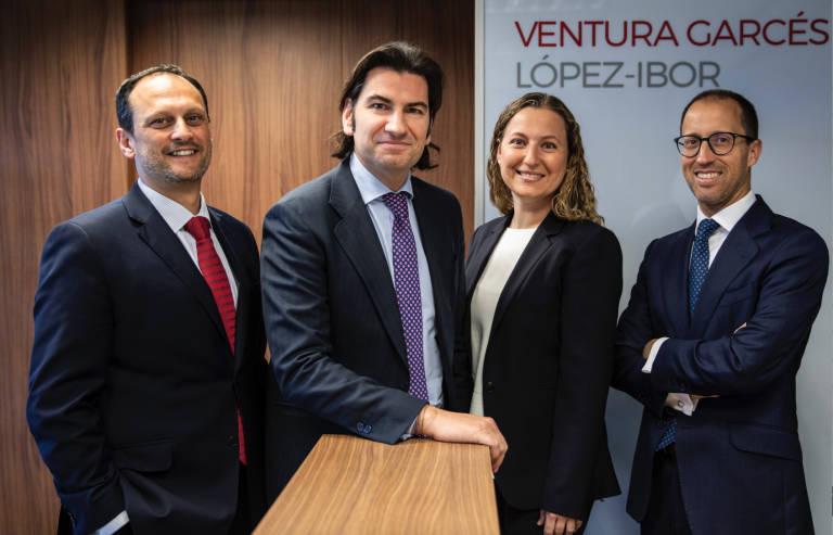 El despacho de abogados Ventura Garcés López-Ibor amplía su apuesta por València