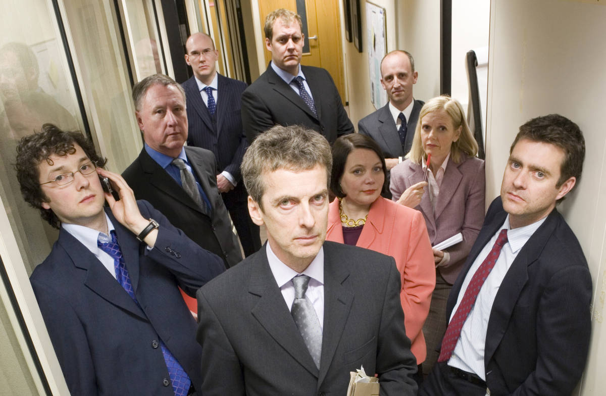 'The thick of it'