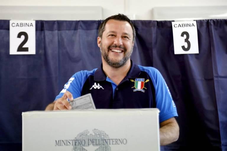 La Liga de Salvini arrasa en Italia