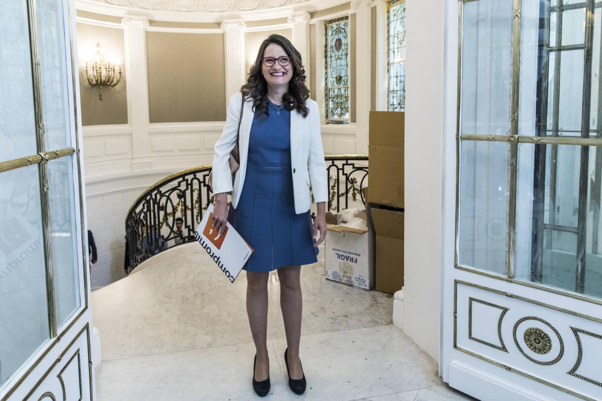 Mónica Oltra. Foto: EVA MÁÑEZ