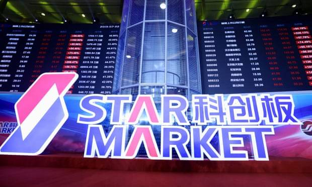 China lanzó STAR Market, una nueva bolsa de valores tecnológicos