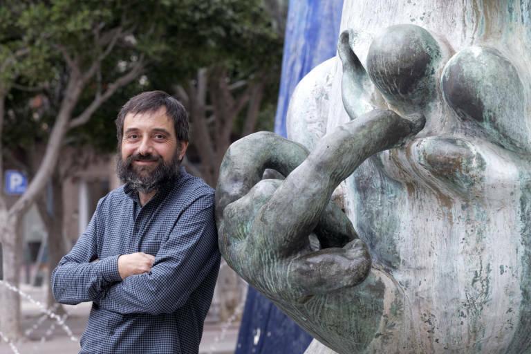 David Barberá coordina la parte española del estudio en la UPV (foto: Antonio Pradas)