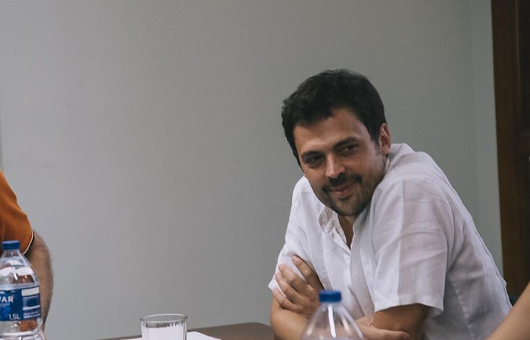 El gerente de la EMT, Josep Enric García. Foto: KIKE TABERNER