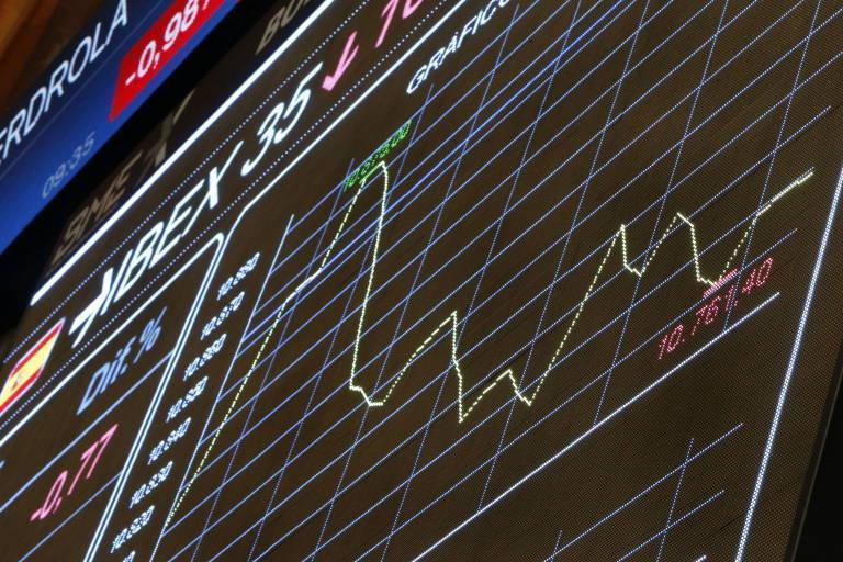 El Ibex 35 gana un 7,82% al final de la jornada