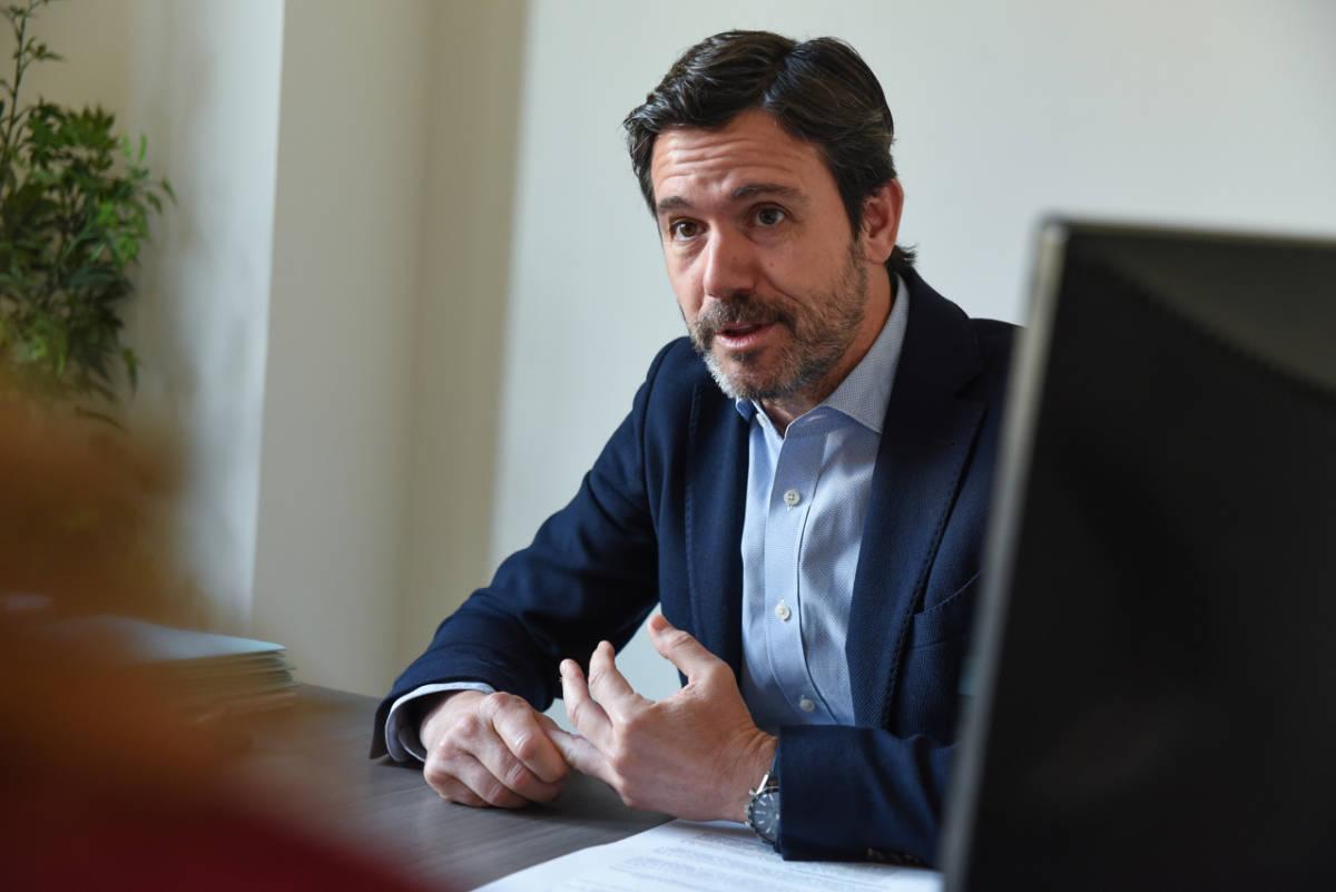 El presidente de Confecomerç, Rafael Torres. Foto: EDUARDO MANZANA
