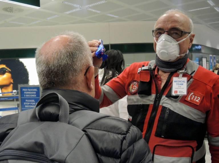 coronavirus vuelos italia