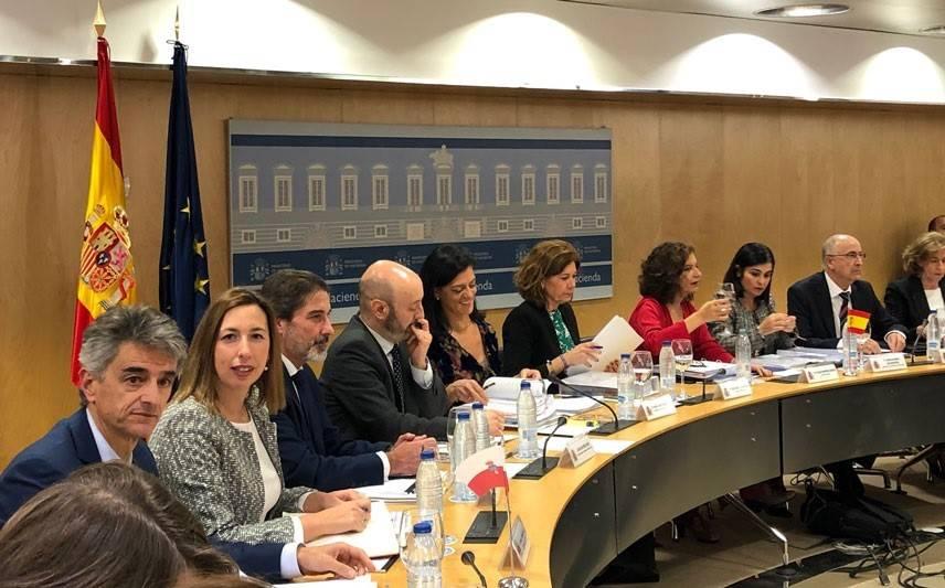 Consejo de Política Fiscal y Financiera. Foto: EP