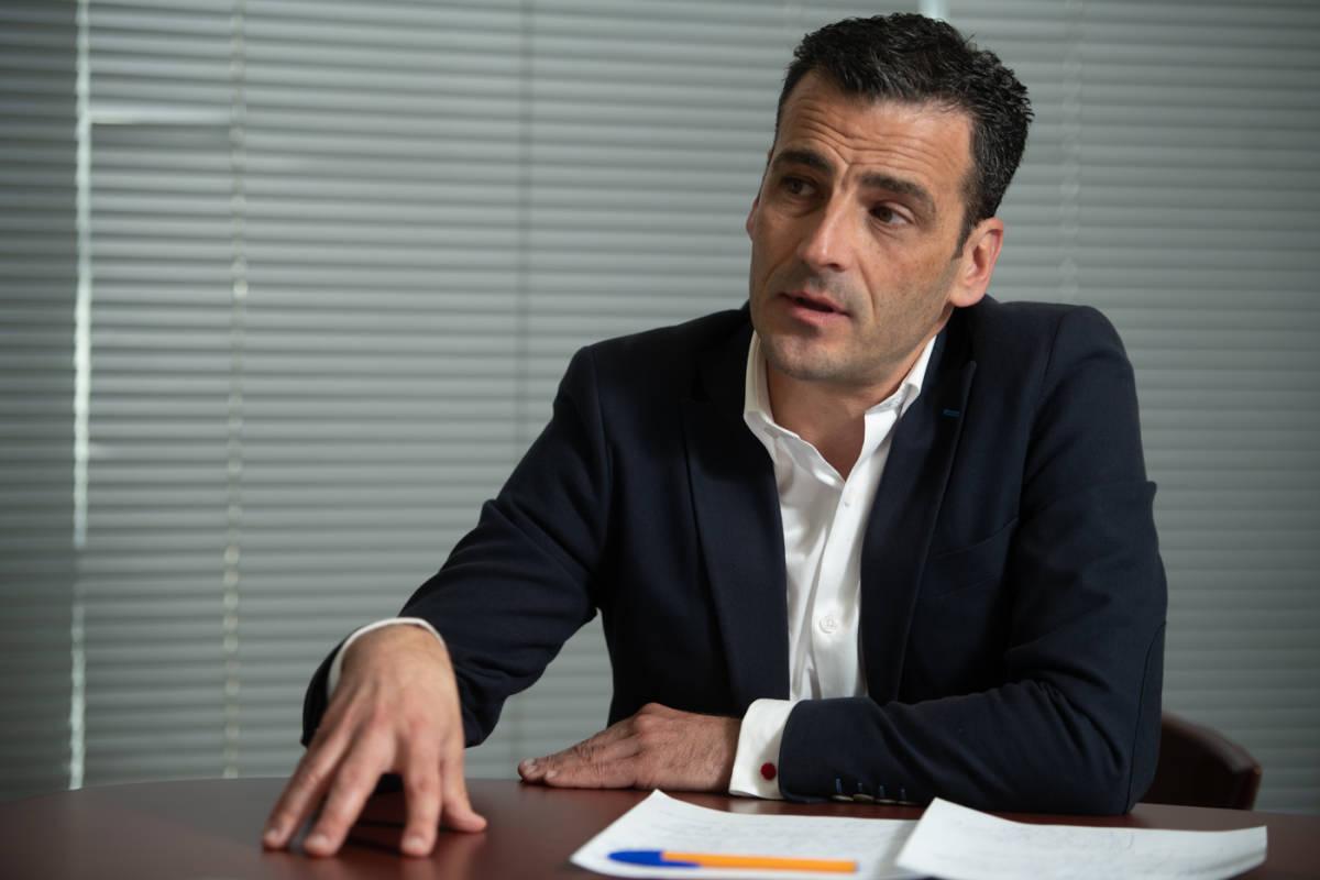 El director general de À Punt, Alfred Costa. Foto: KIKE TABERNER