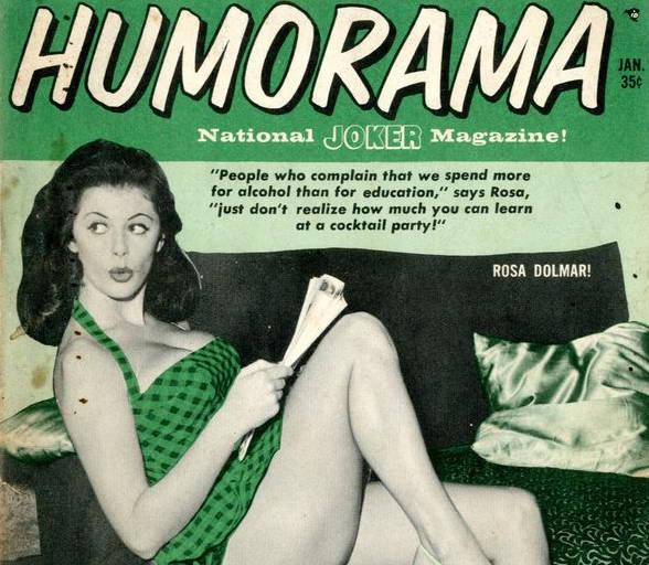 Las 'pin-ups' de Humorama, chistes eróticos para el obrero de los años 50 HUMORAMA1_NoticiaAmpliada