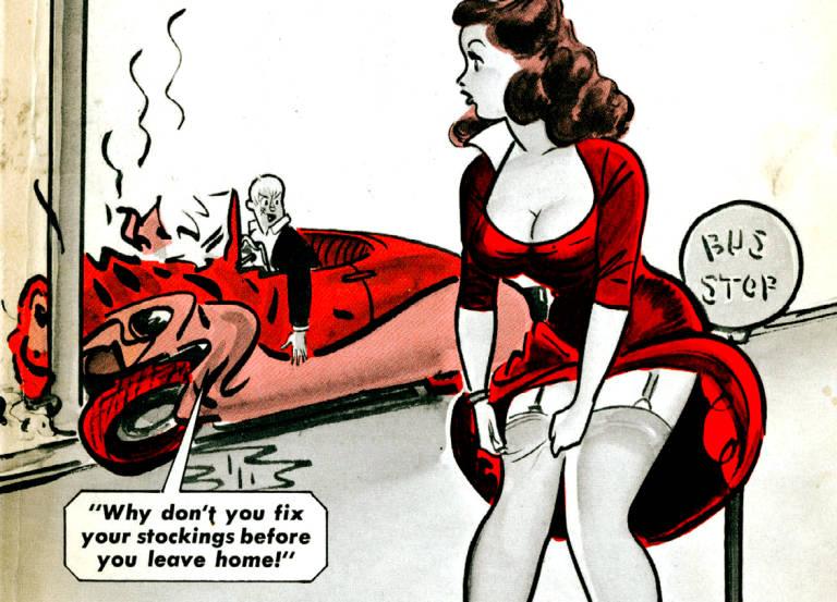 Las 'pin-ups' de Humorama, chistes eróticos para el obrero de los años 50 HUMORAMA2_NoticiaAmpliada