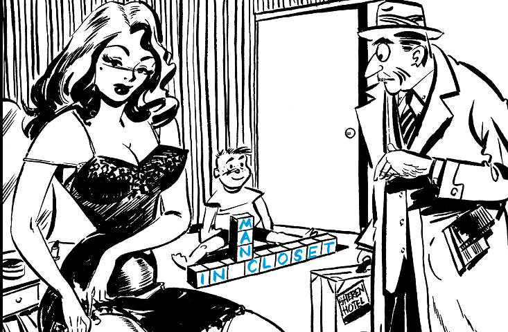 Las 'pin-ups' de Humorama, chistes eróticos para el obrero de los años 50 HUMORAMA3_NoticiaAmpliada