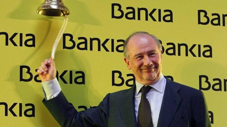 Rodrigo Rato, el día de la salida a bolsa de Bankia