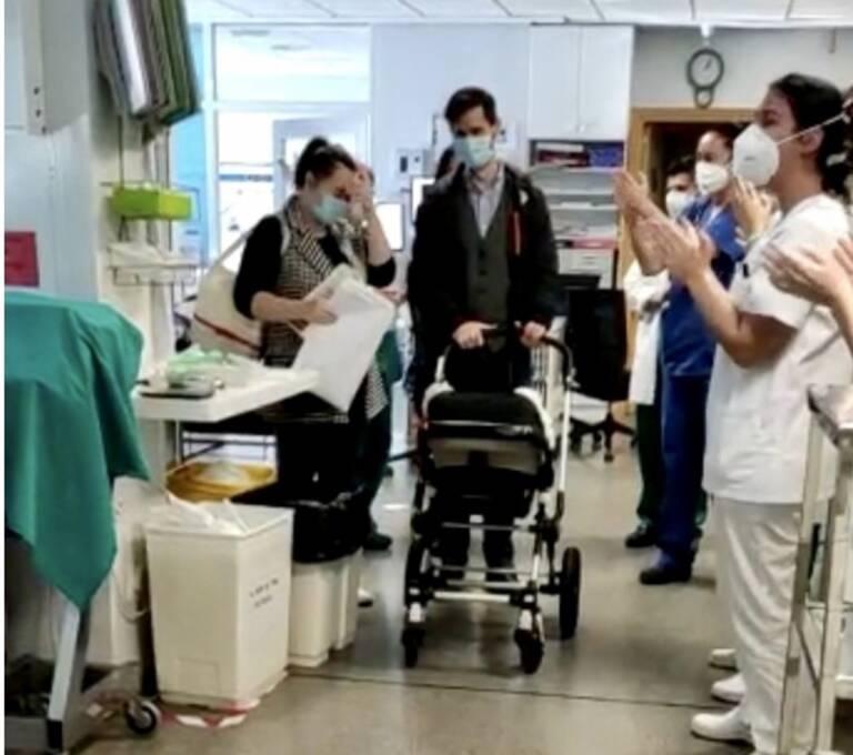 Bebé supera el virus tras 70 días hospitalizado