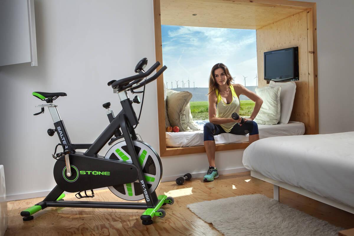 """La bici """"indoor"""" de Salter más vendida de este año. Foto: SALTER FITNESS"""