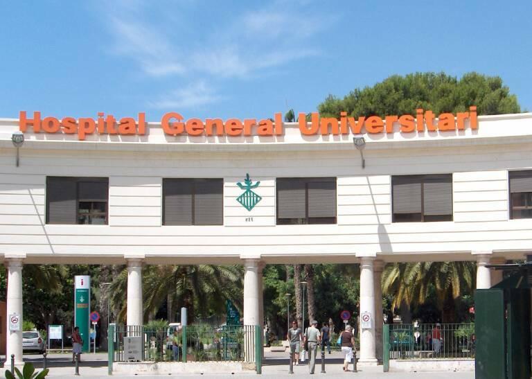 Entrada del Hospital General