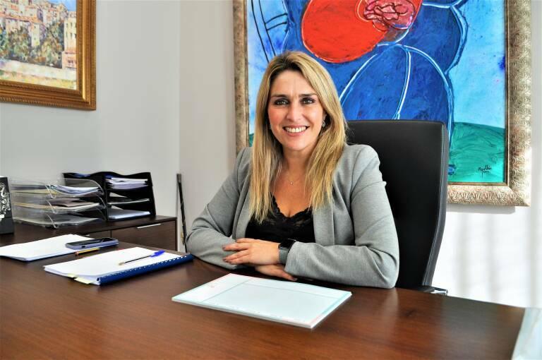 Marta Barrachina, alcaldesa de Vall d'Alba.