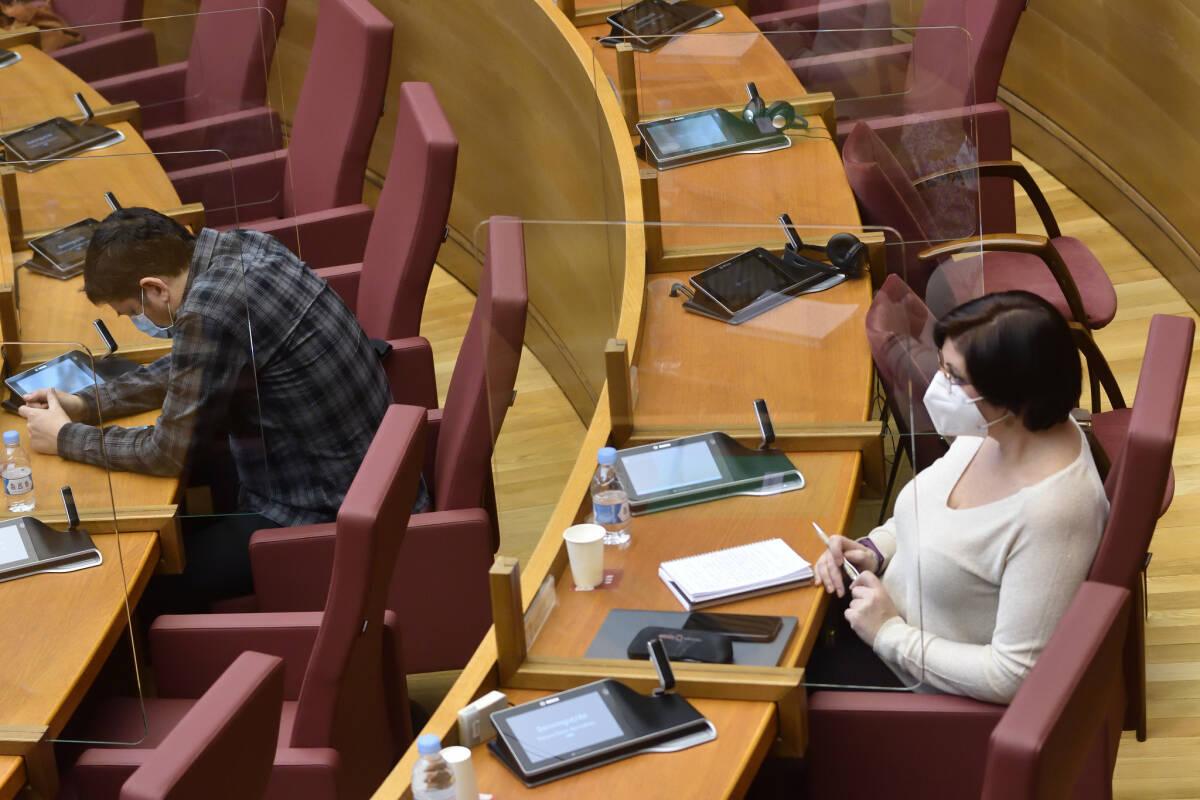 La diputada de Unides Podem Estefanía Blanes. Foto: CORTS/INMA CABALLER
