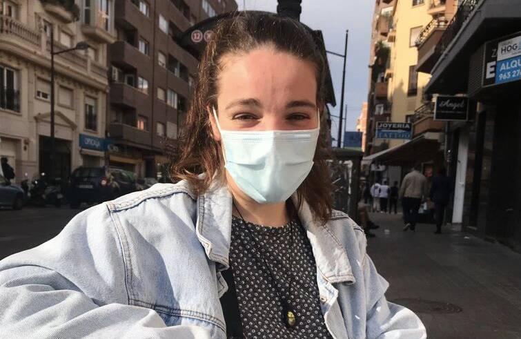 Marta, una de las afectadas por el cierre perimetral. Foto: MARTA