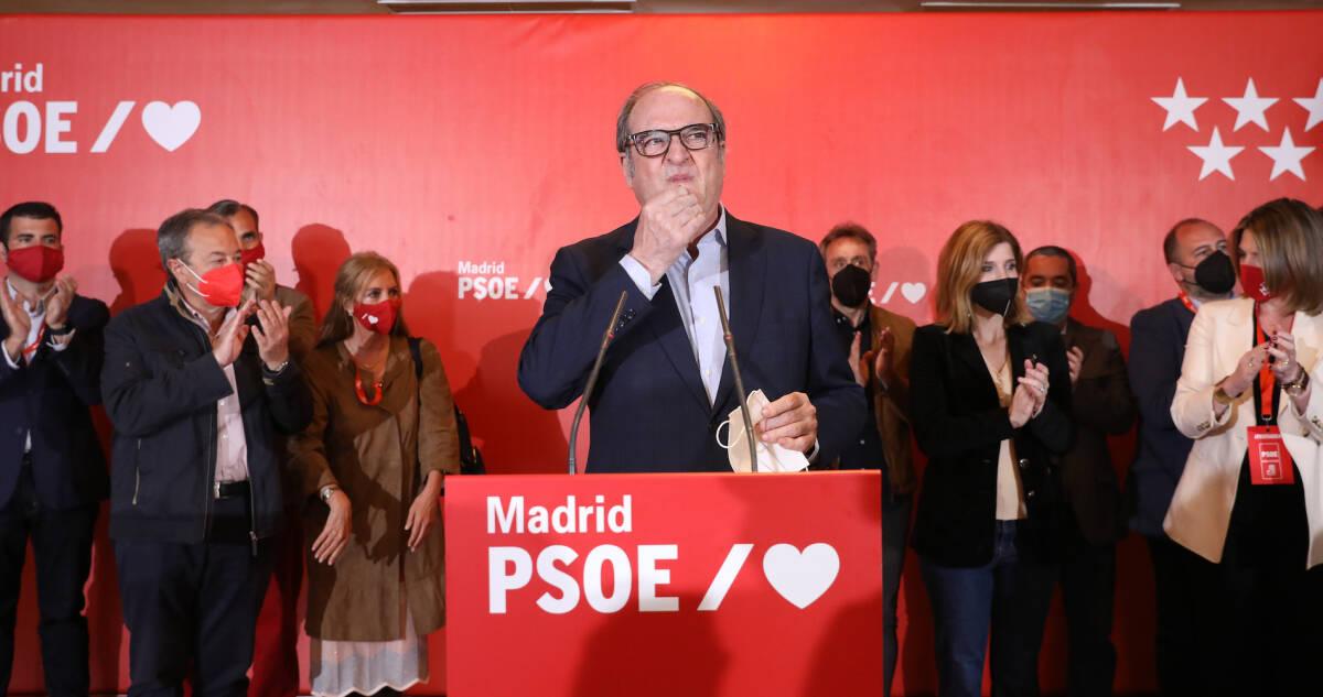 Ángel Gabilondo. Foto: MARTA FERNÁNDEZ/EP