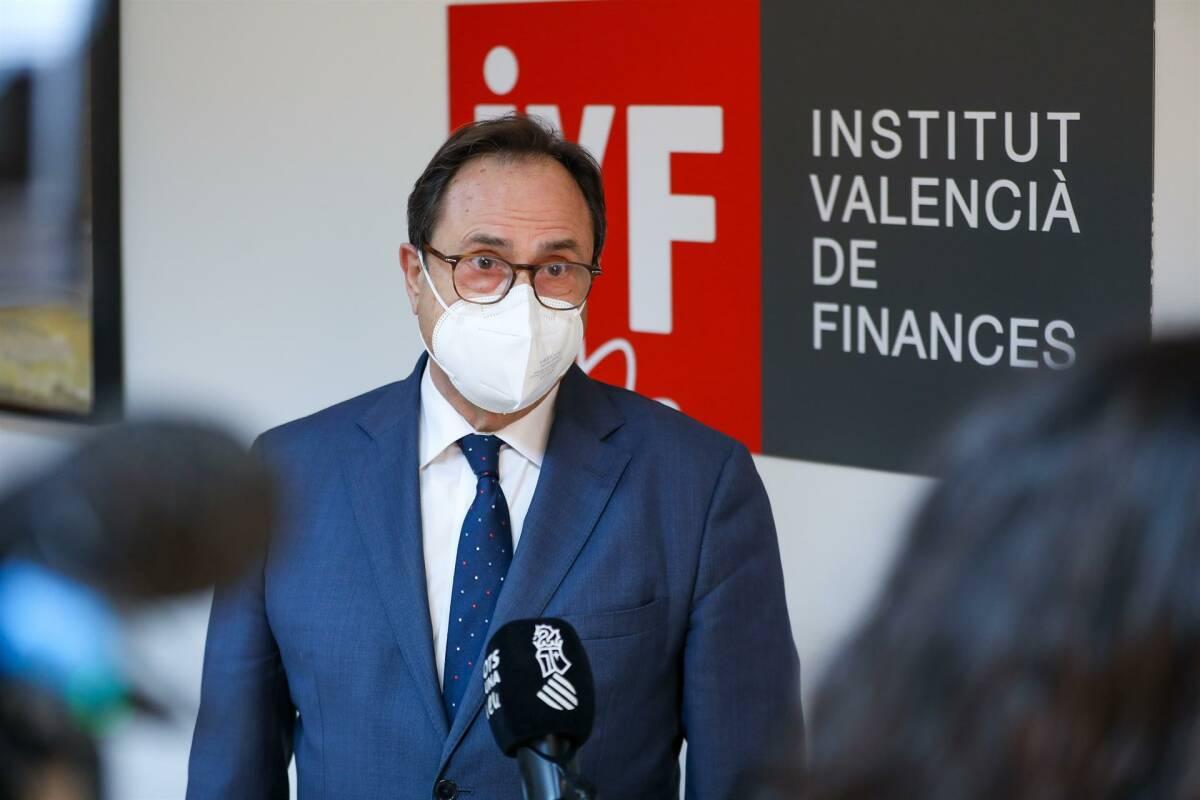 Vicent Soler, conseller de Hacienda. Foto: GVA