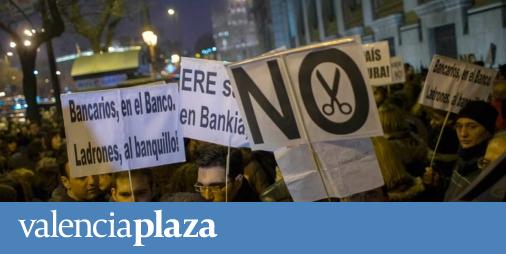 Bankia Fija Finalmente En 192 Los Despidos En La Comunitat