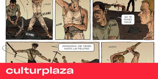 Un cómic saca a la luz los campos de concentración para homosexuales del franquismo