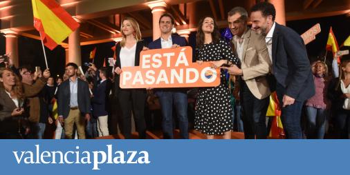 La caída de Rivera evidencia la división por familias de Ciudadanos en la Comunitat - valenciaplaza.com